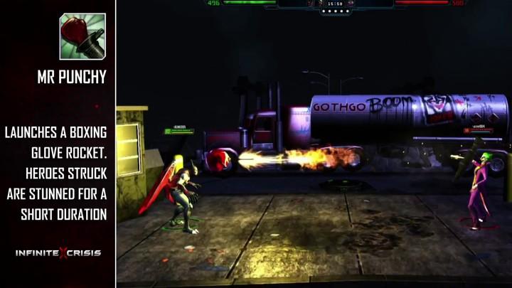 Champions du MOBA Infinite Crisis : le Joker
