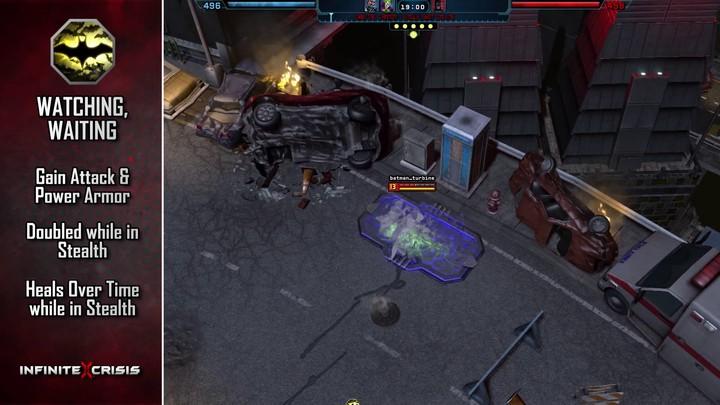Champions du MOBA Infinite Crisis : Batman