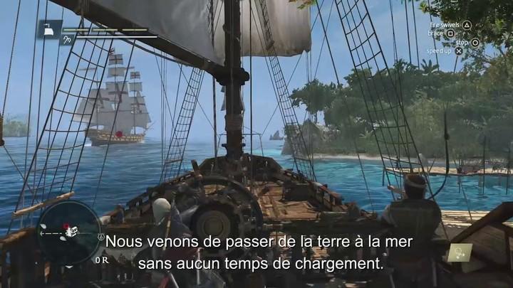 Présentation du gameplay d'Assassin's Creed 4 : Black Flag (VOSTFR)