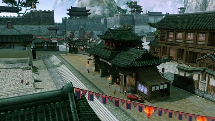 ChinaJoy 2013 - Bande-annonce du MMO d'arts martiaux Chun Ryong Ki