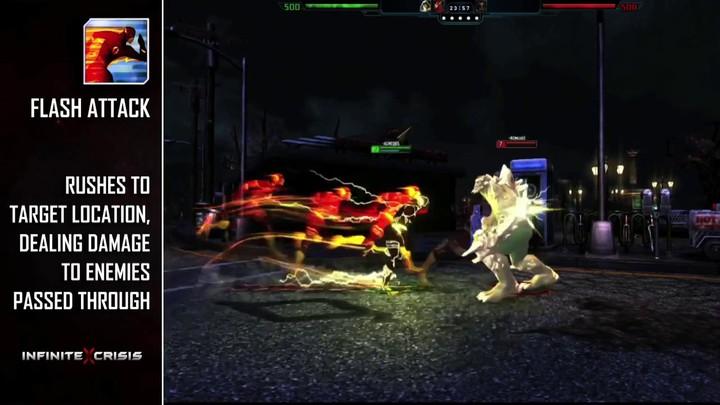 Champions du MOBA Infinite Crisis : Flash