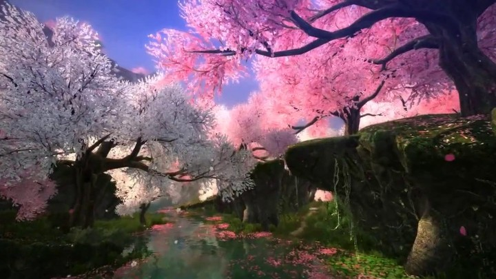 Aperçu de la faction Peach Blossom Island de l'extension Age of Wushu: The World Change