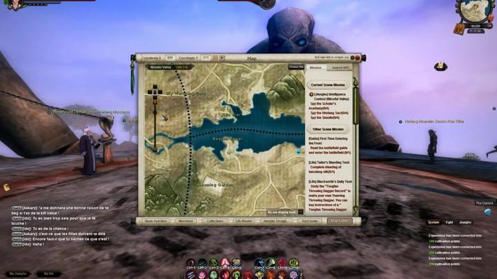 Guide de jeu : la carte d'Age of Wulin, l'économie et le kidnapping (pour devenir riche !)