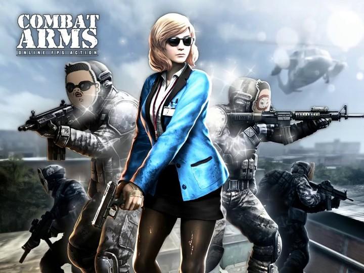 Introduction du gentleman PSY dans Combat Arms