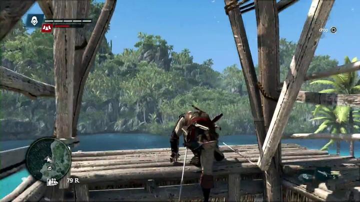 10 minutes de gameplay sur les lieux et activités d'Assassin's Creed IV (VOSTFR)