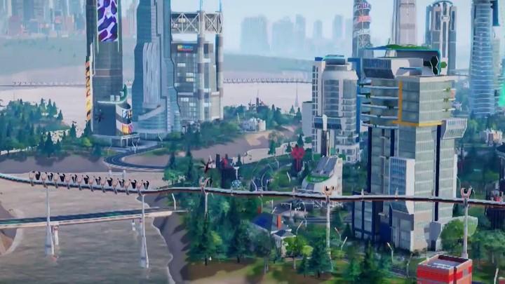 """Bande-annonce de l'extension """"les Villes de Demain"""" de Sim City"""
