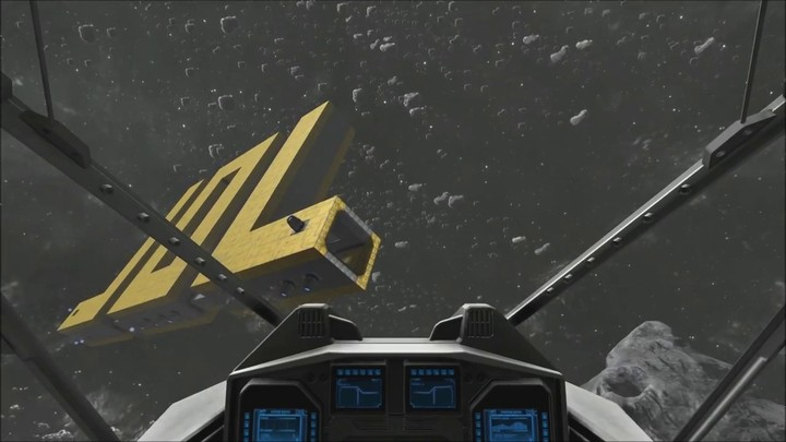 Aperçu d'une création sur Space Engineers - V2