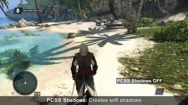 Démonstration technique avec Assassin's Creed IV et les cartes GeForce GTX