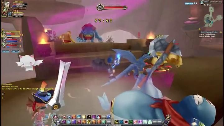 Bande-annonce du gameplay d'Heva Clonia Online
