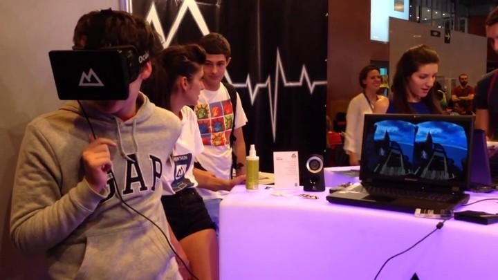 MGW 2013 - Essai de l'Oculus Rift