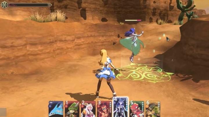 G-Star 2013 - Aperçu du système de combat de Peria Chronicles