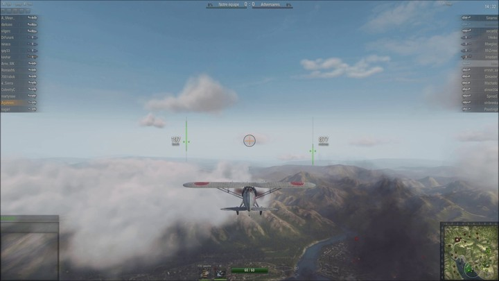 Gameplay - Bataille dans le ciel de World of Warplanes