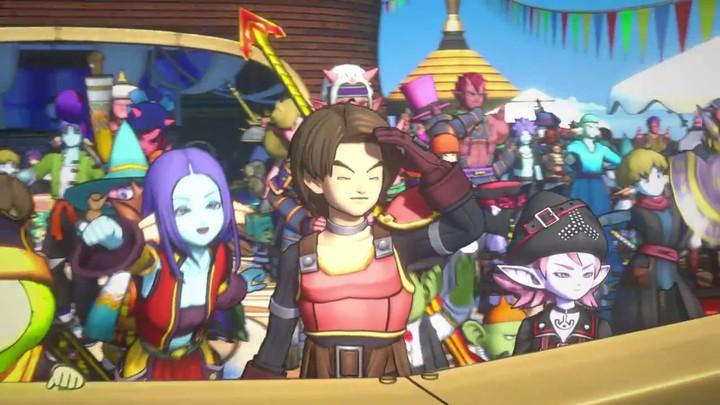 Bande-annonce Dragon Quest X version 2.0