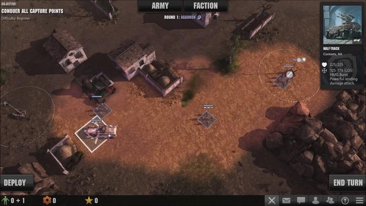 Gameplay - Bataille au tour par tour sur March of War