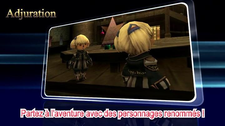 Bande-annonce des nouveautés de décembre 2013 de Final Fantasy XI