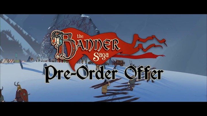 Bande-annonce de prélancement de The Banner Saga