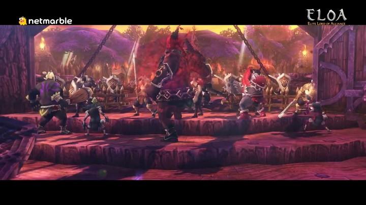 Premier aperçu du gameplay d'ELOA: Elite Lord of Alliance