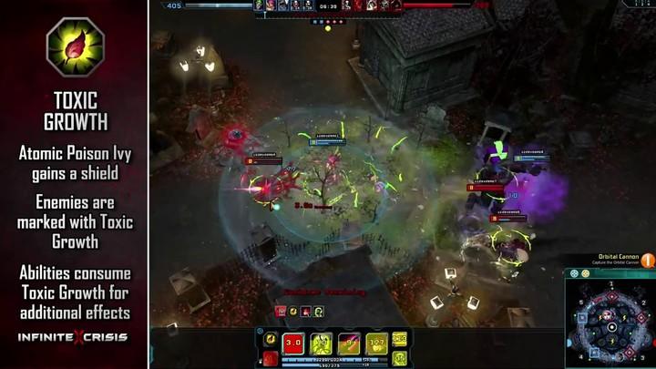 Champions du MOBA Infinite Crisis : Atomic Poison Ivy