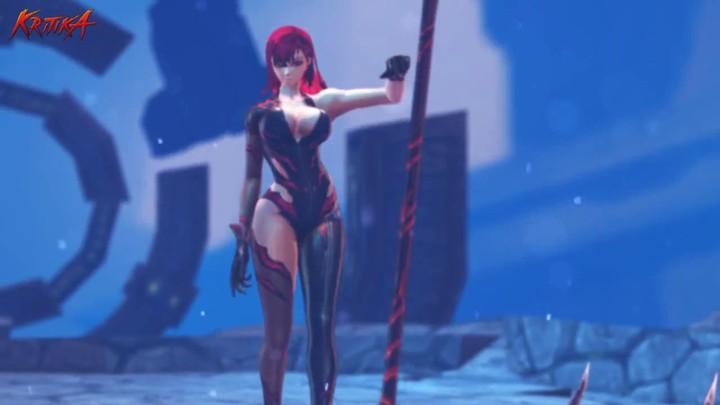 Aperçu du gameplay de la valkyrie Yoran de Kritika