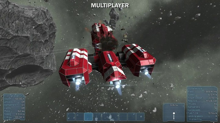 Présentation du mode multijoueur (alpha) de Space Engineers