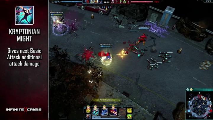 Champions du MOBA Infinite Crisis : Superman vole à notre secours (VOSTFR)