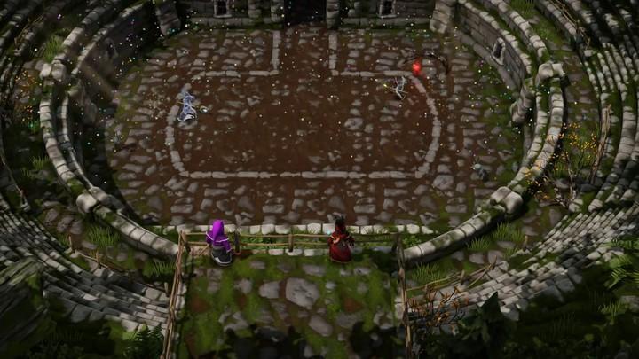 Aperçu du mode Duel de Magicka Wizard Wars
