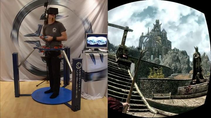 Immersion complète sur Skyrim avec l'Oculus Rift, entre autres