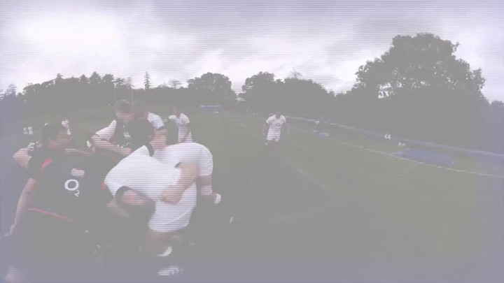 S'entraîner avec l'équipe d'Angleterre de rugby en enfilant l'Oculus Rift
