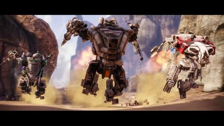 Bande-annonce de lancement d'Hawken sur Steam