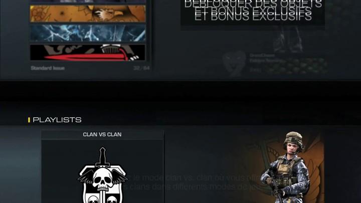 Présentation des clans de Call of Duty : Ghosts (VOSTFR)