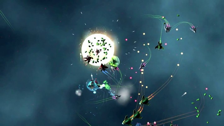 Bande-annonce du MMO SHMUP Gangs of Space
