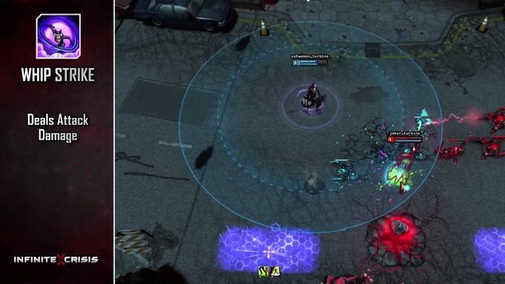 Champions du MOBA Infinite Crisis : Catwoman sort les griffes