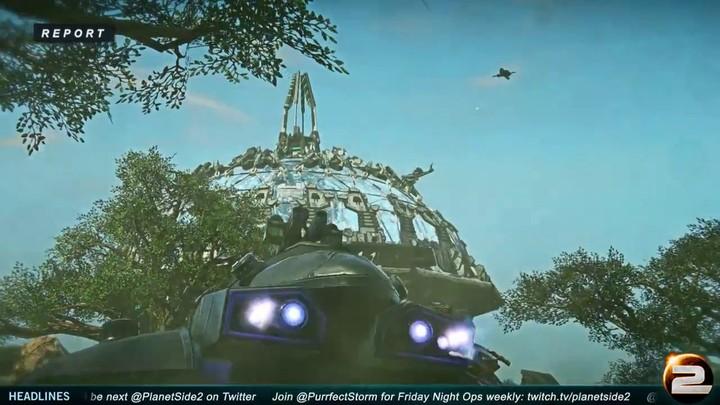Correspondant de guerre - Les batailles épiques sur PlanetSide 2