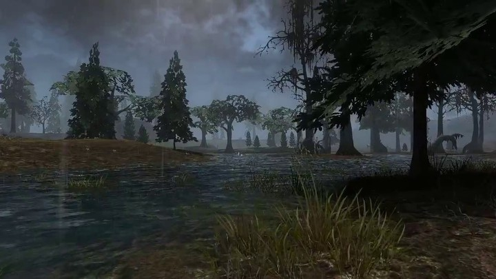 Illustration des effets climatiques de Darkfall Unholy Wars