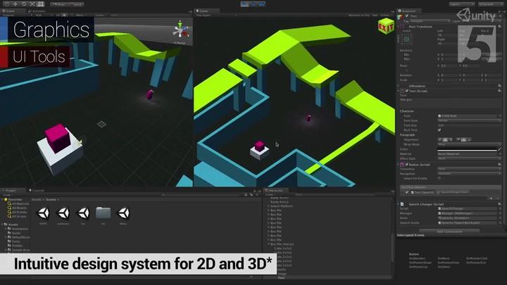 GDC 2014 - Présentation du moteur Unity 5