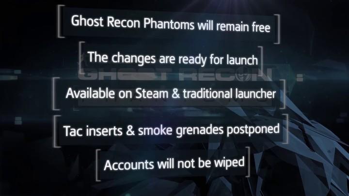 Présentation des nouveautés de Ghost Recon Phantoms (VOSTFR)