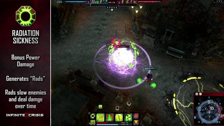 Champions du MOBA Infinite Crisis : Atomic Green Lantern expose sa radioactivité