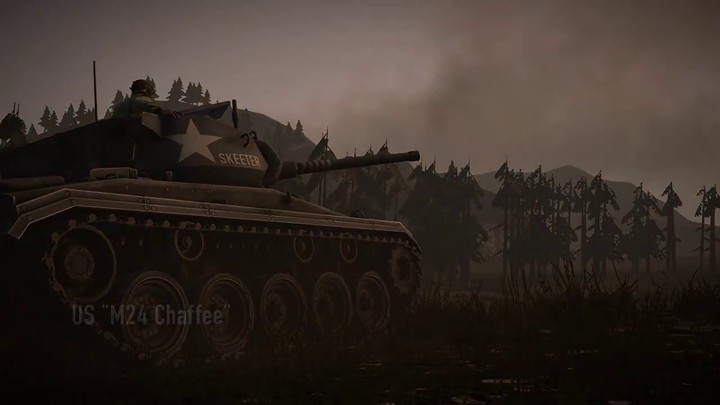 """Bande annonce de la mise à jour """"Patton"""" de Heroes & Generals"""