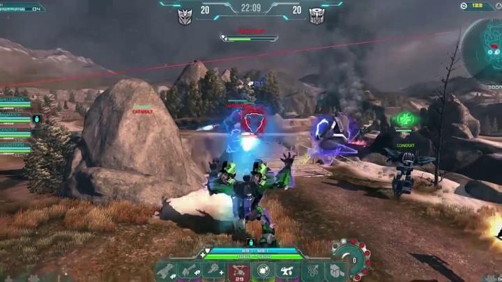 Présentation du Decepticon Mismatch  de Transformers Universe