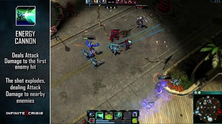 Champions du MOBA Infinite Crisis : Blue Beetle (VOSTFR)