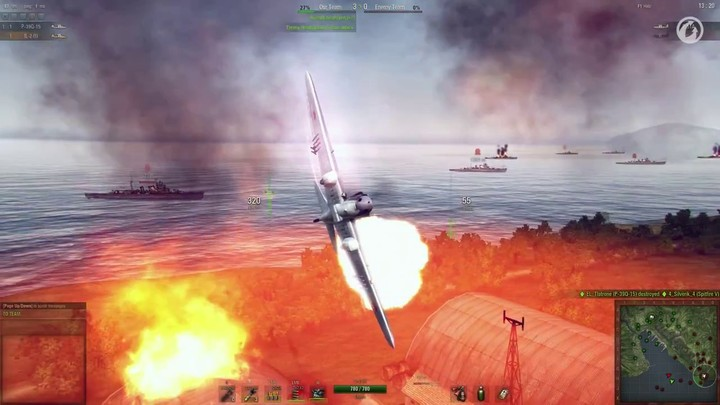 Ecole de pilotage #6 : les avions d'assaut de World of Warplanes (VOSTFR)