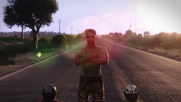Du karting sur la simulation de guerre Arma III