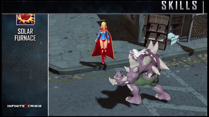Champions du MOBA Infinite Crisis : Supergirl