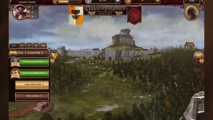 Bande-annonce de la version Android de Game of Thrones Ascent