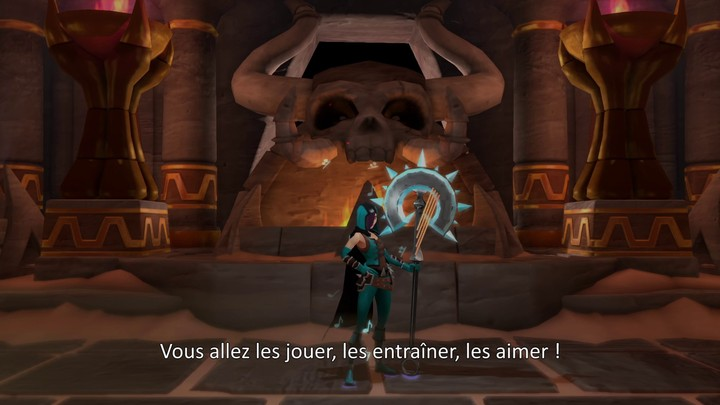Le mercato des héros sur Mighty Quest for Epic Loot (VOSTFR)