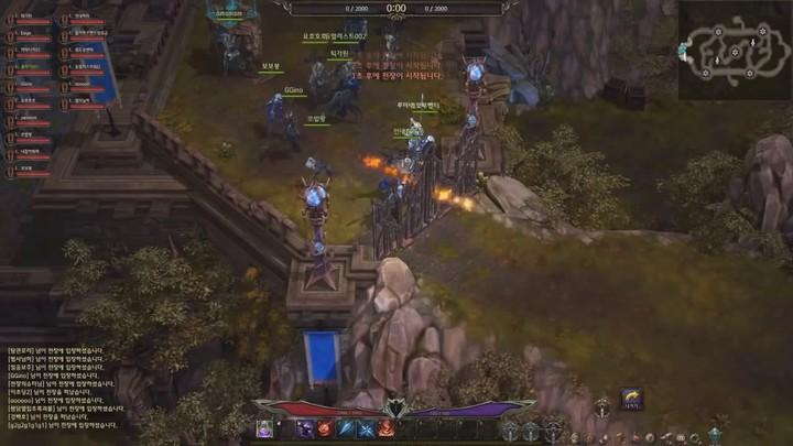 Aperçu du gameplay PvP de Devilian : 20 vs. 20