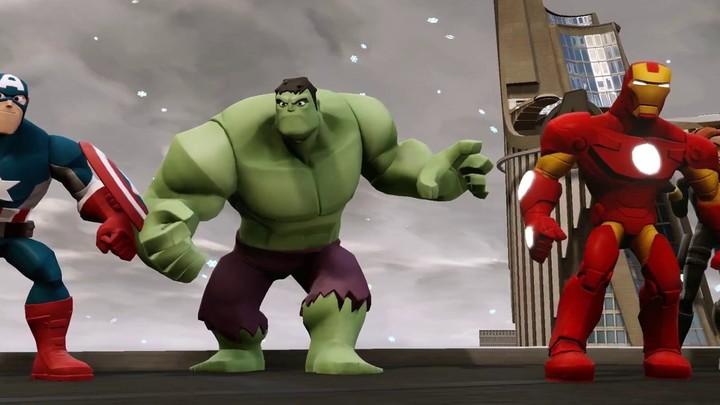 Aperçu des vilains Loki, Bouffon vert et Ronan l'Accusateur de Disney Infinity Marvel Heroes