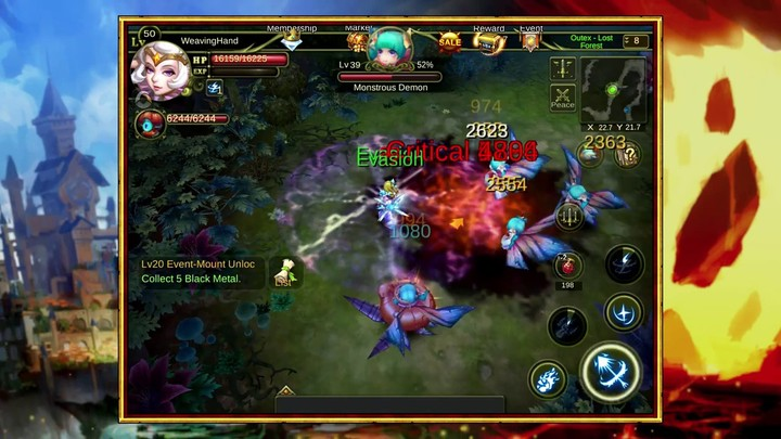 Bande-annonce de lancement du MMO mobile Dawn Of The Immortals