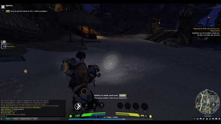 Premiers pas sur Firefall, le MMO shooter