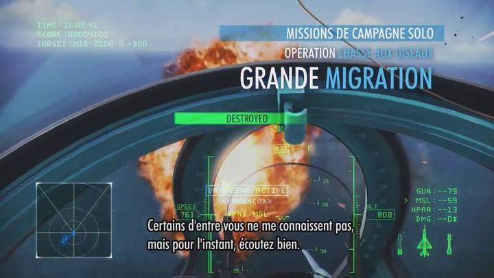 Bande-annonce de lancement d'Ace Combat Infinity